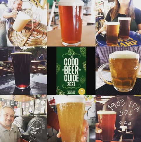 Good Beer Guide collage of pics