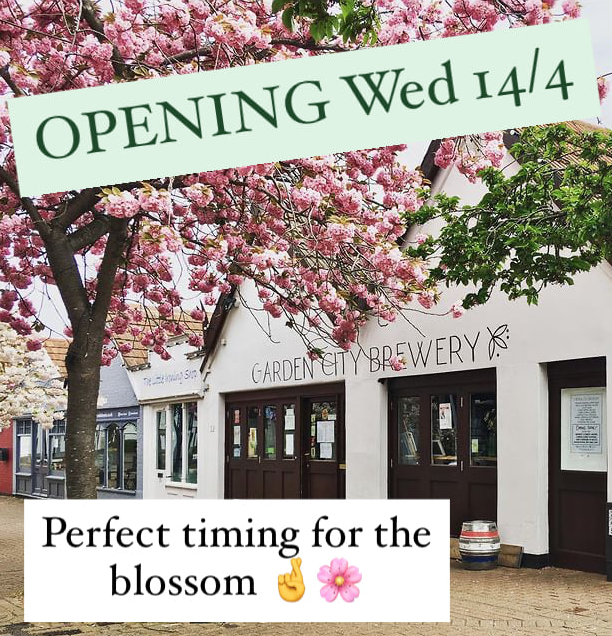 re-opening Weds 14 Apr 2021