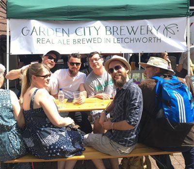 Garden City Brewery punters