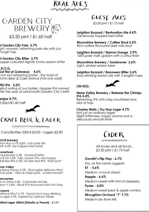 sample-ales-menu